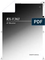 RXV363 Manual