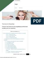 ➤ Tecnicas de Maquillaje Profesional Tips de Belleza, Pinceles Brochas.pdf