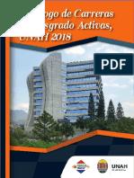 Catalogo de Carreras de Posgrado Activas UNAH 2018