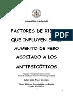 Antipsicoticos y aumento de peso