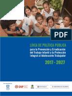 Linea de Política Pública Trabajo Infantil y Protección al Adolescente T   .pdf