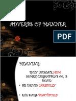 Adverbs of Manner Grammar Guides 56220