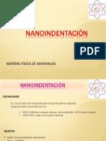 Nanoidentacion - Fisica de los Materiales