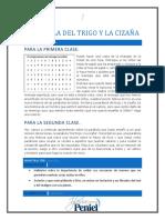 Lección 2 - La Parábola Del Trigo y La Cizaña