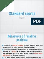Standard Scores PPT