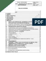 (06012015) Lineamiento de Organizacion de Archivos Institucionales