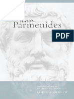[Joan Palevsky Imprint in Classical Literature] Parmenides._ Socrates._ Zeno, Zeno_ Parmenides._ Plato._ Scolnicov, Samuel_ Socrates - Plato's Parmenides (2003, University of California Press)
