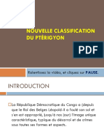 Nouvelle Classification Du Ptérygion