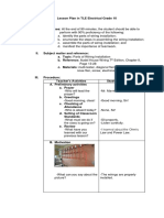 Detailed Lesson Plan in TLE Electricity