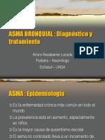 Asma, Enfoque Diagnóstico y Tratamiento CRV