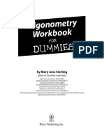 Trigonometry Workbook for Dummies (Sample)