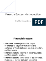 01. Financial System - Introduction