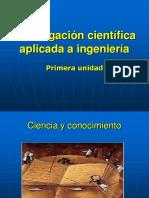 1- Investigación Científica Aplicada a Ingeniería