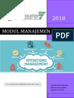 3 Modul Manajemen Operasi