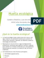 3.2 Huella Ecológica y Huella de Carbono
