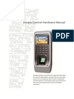 Access Control Hardware Manual.en.Es