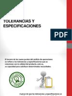 TOLERANCIAS Y ESPECIFICACIONES.pptx