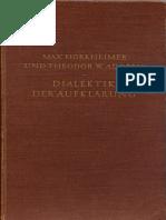 [Horkheimer Max, Adorno Theodor] Querido 1947(B-ok.xyz) (1)