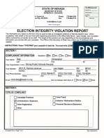 Election Integrity Violation Report -SPSNV 10.22.18