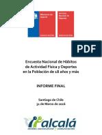 Informe Final Encuesta Deportes Completo (2016)