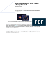 Overview of Research Achievements in the Field of RNA Molecular Biology Research