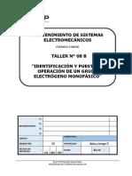 Identificación y Puesta en Operación de Un Grupo Electrógeno Monofásico.