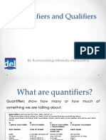 Quantifiers and Qualifiers