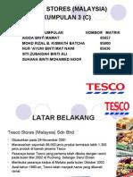 Presentation Tesco Malaysia