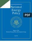 National Energy Policy USA