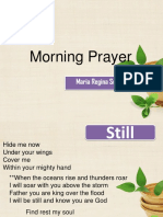 Morning Prayer Institutional