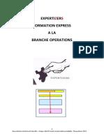 07 Formation Express Branche Operation / UE 2.5.1 Logiciels évolués de contrôle et d'audit