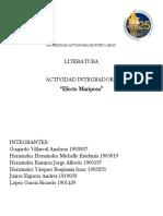 Cuento de literatura Actividad Integradora