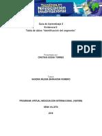 """G3 Evidencia 5 Tabla de Datos """"Identificación Del Segmento"""" (1)"""