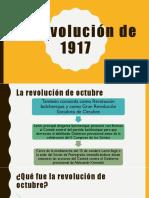 La Revolución de 1917