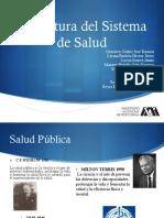 Organización del sistema de salud pública de México