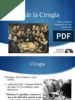 Historia de la cirugía en México y el mundo