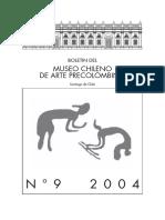 Boletin del Museo chileno de arte precolombino