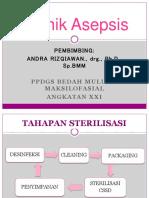 Asepsis Dan Sterilisasi XXI (1)