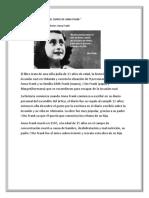 El Diario de Anna Frank Melssa
