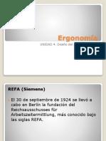 Ergonomia - Diseño Del Area de Trabajo