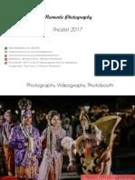Pricelist Momentic Photo Video Photobooth