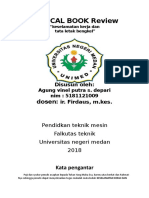 Critical Book Review keselamatan dan kesehatan kerja (k3)  Agung Vinel Putra