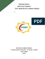 Program Kerja Farmasi 2018