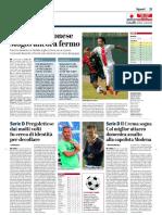 La Provincia Di Cremona 23-10-2018 - Serie B