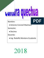 325698197 Cosmovision Aymara y Quechua