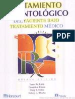 LIBRO Tratamiento Odontológico Del Paciente Bajo Tratamiento Médico