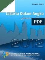 Jakarta Dalam Angka 2012