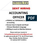 Accounting Officer