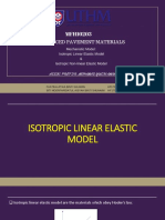 Isotropic Linear and Non Linear