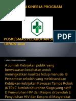 PENCAPAIAN KINERJA PROGRAM 2018.pptx